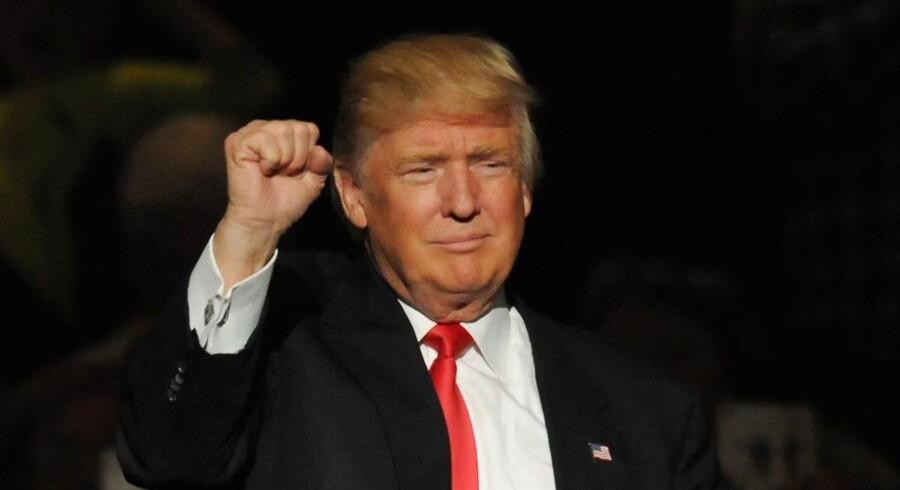 """Arkivfoto. USA's næste præsident, Donald Trump, fortsætter som producer af realityserien """"The Celebrity Apprentice""""."""