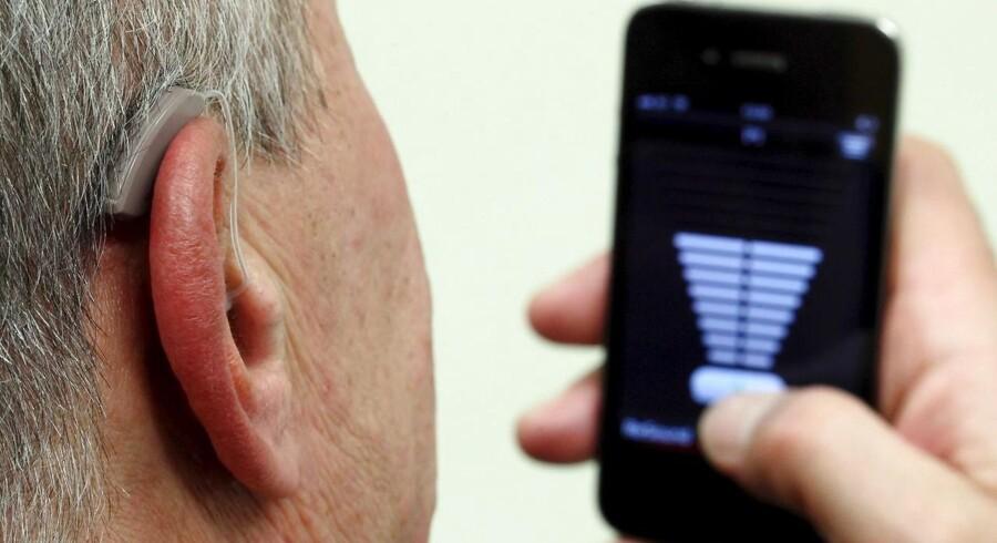 Arkivfoto. Øget konkurrence i den offentlige amerikanske salgskanal Veterans Affairs (VA), der tilpasser høreapparater til amerikanske militærveteraner, har kostet på markedsandelen for danske GN Hearing i maj.