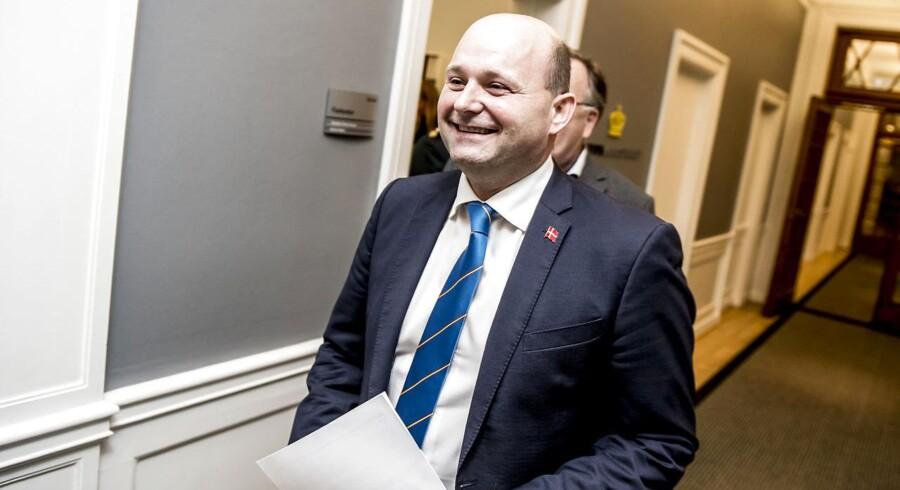 Arkivfoto: Det er første gang i 20 år, at Søren Pape ikke stiller op ved kommunalvalg, så Pape glæder sig til at stemme.
