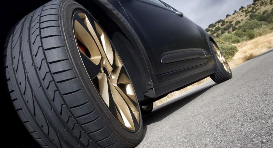 Et passende dæktryk giver større sikkerhed, mere køreglæde og bedre brændstoføkonomi.