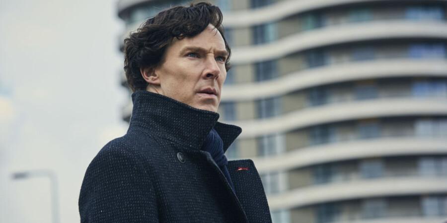 Benedict Cumberbatch begejstrer på fjerde sæson som Sherlock Holmes.