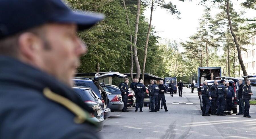 Arkivfoto. To mænd er blevet dømt for tre skyderier i Næstved. I det ene af tilfældene var der tale om drabsforsøg.