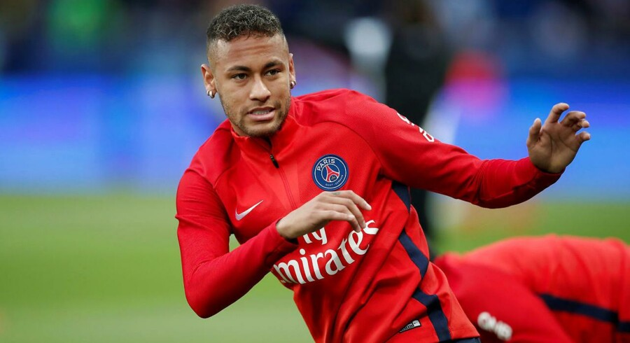 Neymar i PSG-trøjen. REUTERS/Benoit Tessier
