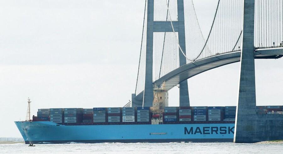 Arkivfoto. Spotpriserne på containerfragt fra Asien og ud i verden steg i igen i indeværende uge ifølge SCFI-indekset fra Shanghai Shipping Exchange.