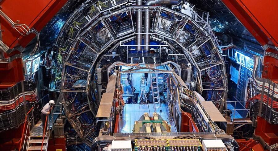 The Large Hadron Collider tænder igen i starten af 2015. Arkivfoto