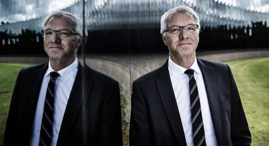 Haldor Topsøe vil etablere et joint venture med det tyske selskab Ferrostaal. De to selsskaber går sammen om at udvikle store projekter i udviklingslande. Her ses Haldor Topsøes topchef Bjerne S. Clausen.