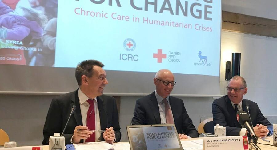 Novo Nordisk og Røde Kors har indgået et partnerskab om behandling af diabetes under humanitære kriser.