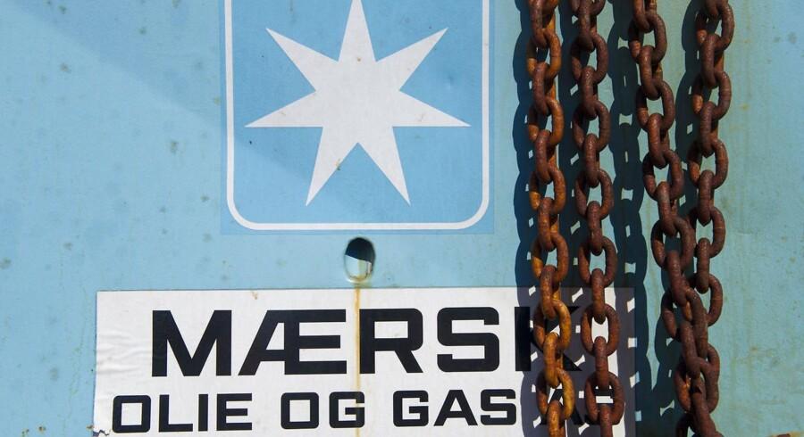 Maersk Oil kan på trods af en markant stigning i anvendelsen af røde kemikalier, glæde sig over, at selskabet genererede mindre affald og udledte mindre CO2 i den danske del af Nordsøen. Arkivfoto.