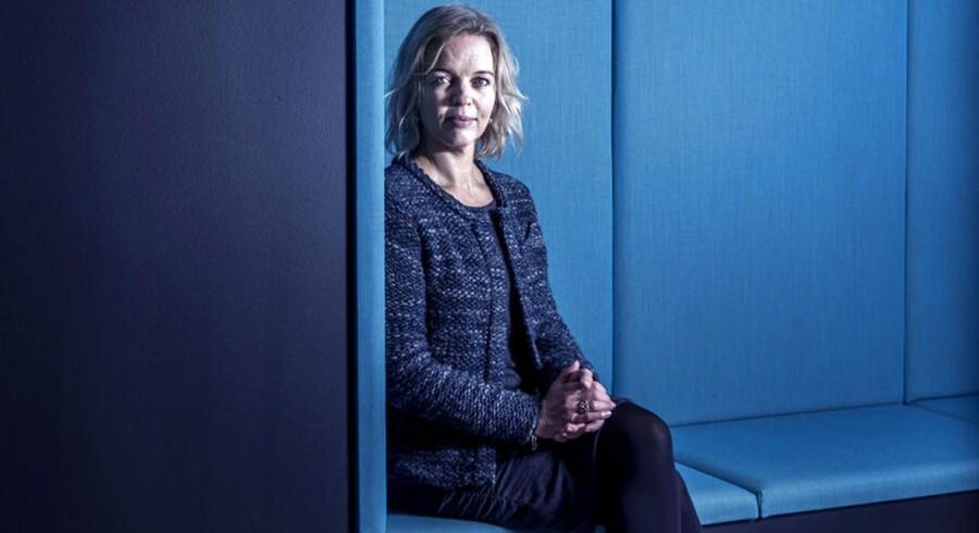 TDCs koncernchef, Pernille Erenbjerg, forventer et stabilt 2017 for Danmarks største telekoncern. Arkivfoto: Thomas Lekfeldt, Scanpix