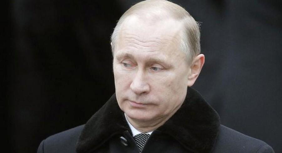Arkivfoto. Rejser og møder er aflyst. Den russiske præsident har ikke vist sig offentligt i en uge. Men han er ikke syg, understreger Kreml.