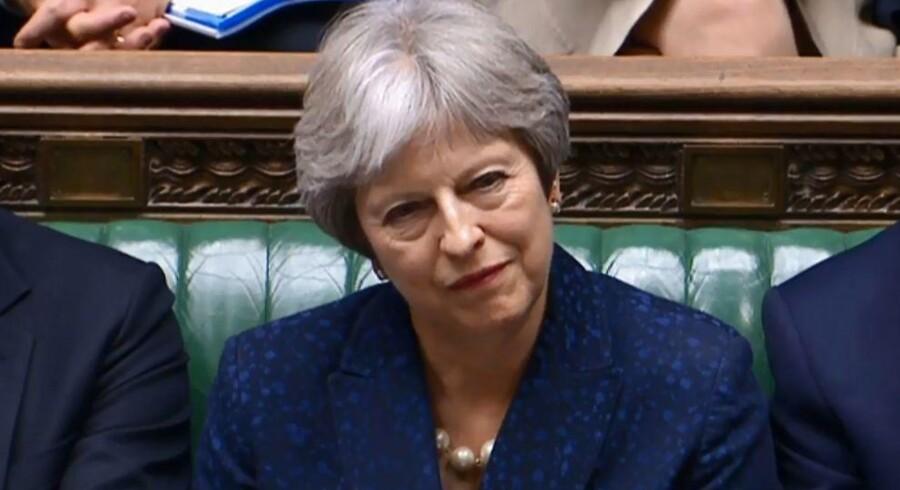 Den britiske premierminister Theresa May