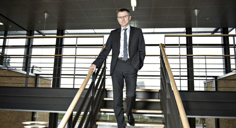 Arkivfoto. Lasse Nyby, direktør Spar Nord