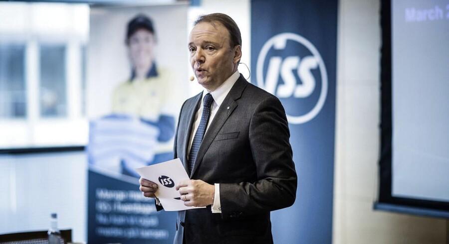 ISS' topchef, Jeff Gravenhorst.