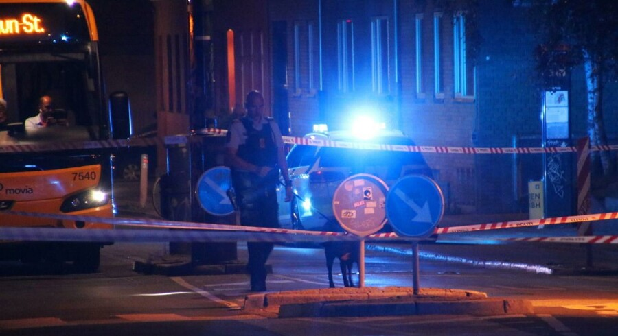 ARkivfoto: Torsdag 11. august var der skyderi i Tingbjerg ved Brønshøj i København, Fredag aften har der igen været skyderi i København (Foto: Mathias Øgendal/Scanpix 2017)