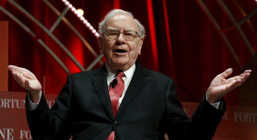 Warren Buffett, formand og topchef i Berkshire Hathaway