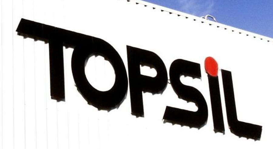 Arkivfoto: Topsil-logo.