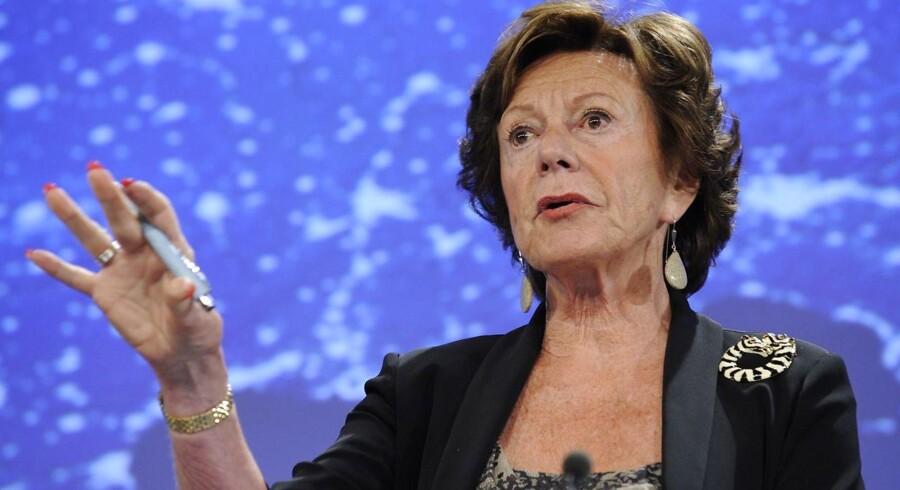 Forhåndværende EU kommisær Neelie Kroes optræder i nye lækkede papirer - Panama Papers.