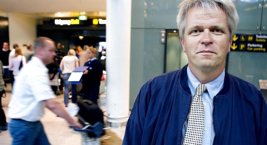 Direktør i Danmarks Rejsebureau Forening, Lars Thykier, i Københavns Lufthavn.