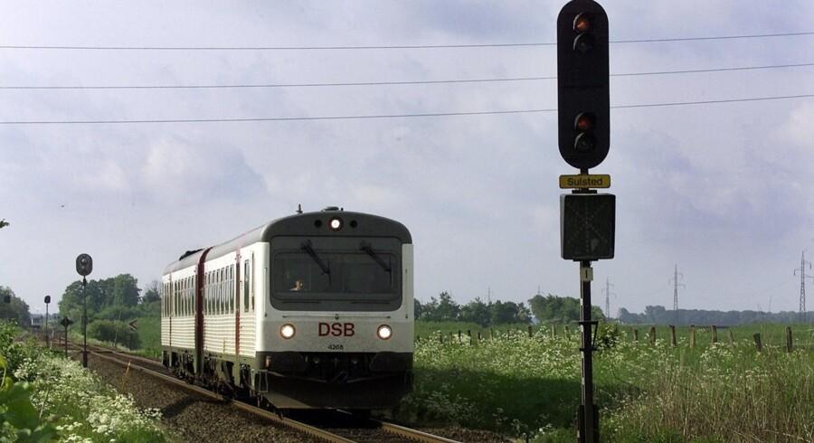 Et nyt signalsystem skal sikre, at der bliver færre forsinkelser. Men foreløbig er selve signalsystemet forsinket. Arkiv. Scanpix/Henning Bagger