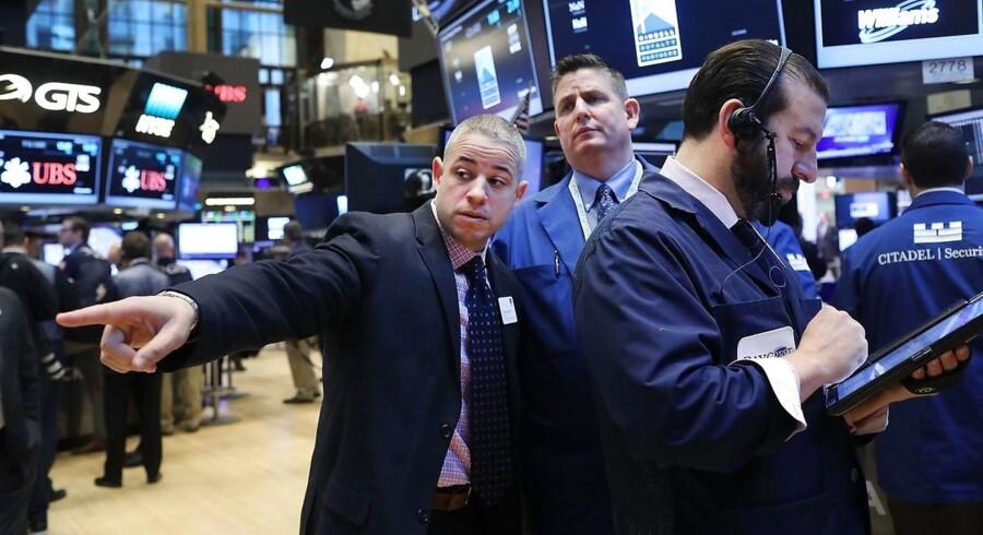 Arkivfoto. Det er fredagens tabere, der starter i førertrøjen mandag, hvor det danske aktiemarked er på vej op i gear igen efter vinterferie