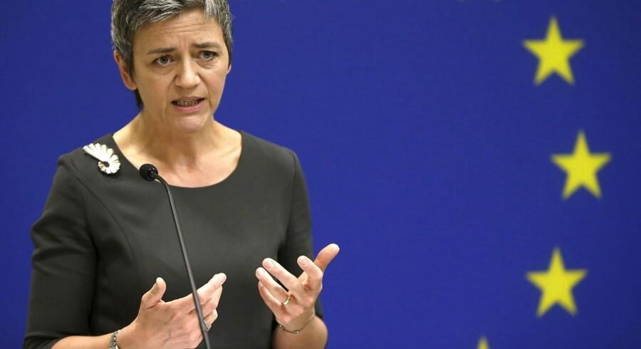 Hver gang EUs konkurrencekommissær Margrethe Vestager har en medarbejder, har selskaber som Google en hel hær af advokater.