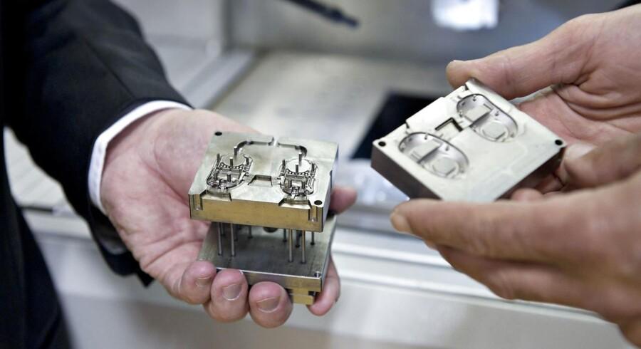 William Demant Holding kunne i sit årsregnskab for 2015 tirsdag morgen løfte sløret for lanceringen af en helt ny produktplatform baseret på den trådløse 2,4 GHz-teknologi. Arkivfoto.
