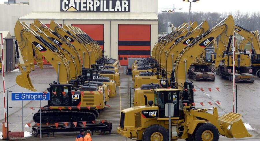 Caterpillar nedpræciserer sine omsætningsforventninger. Foto: Eric Vidal