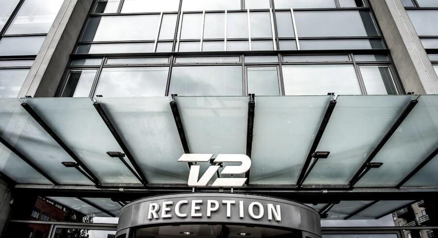 TV2 på Teglholmen i Københavns Sydhavn.