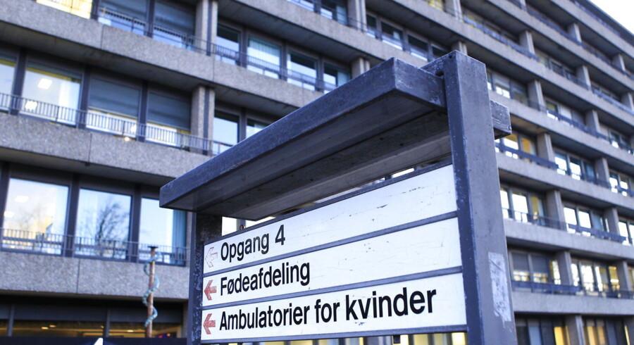 Rigshospitalets fødeafdeling er en af de fødeafdelinger, der sender gravide videre til afdelinger på andre af Region Hovedstadens hospitaler.