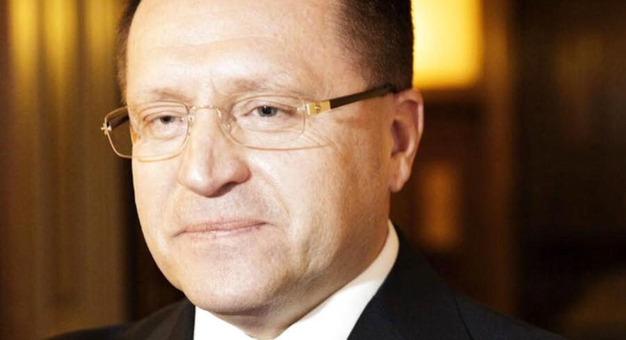 Ruslands ambassadør i Danmmark, Mikhail Vanin.
