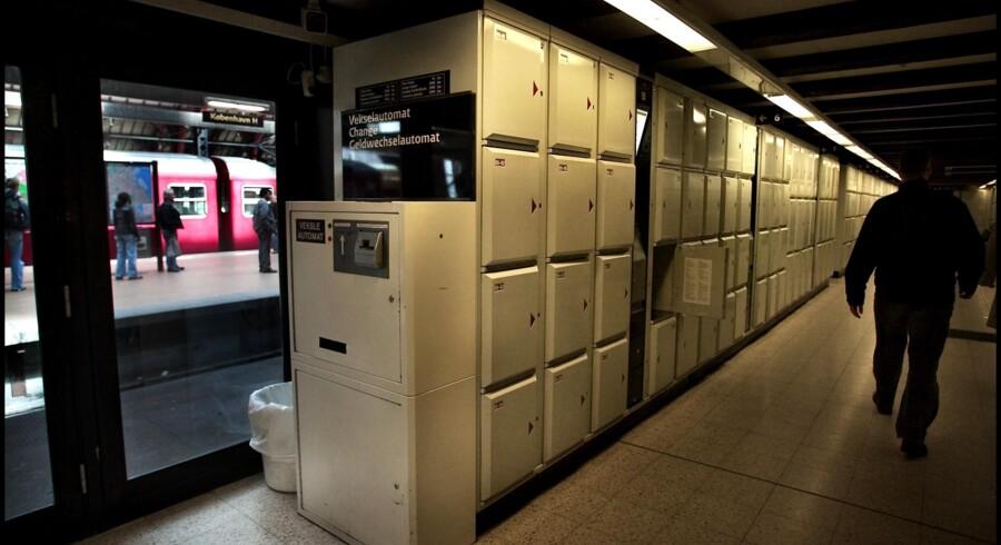 Der var en grund til, at bagageboksene på bl.a. Københavns Hovedbanegård blev afskaffet, skriver Ole Schmidt. Arkivfoto: Nils Meilvang