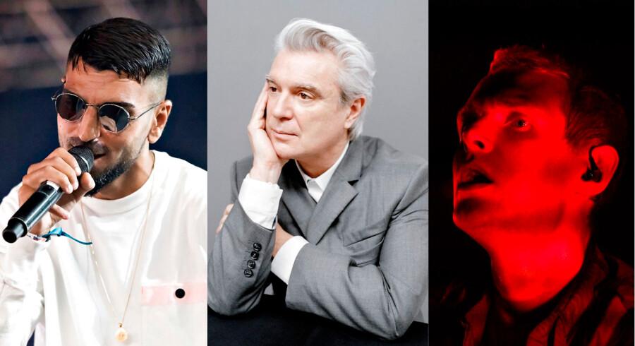 Sivas, David Byrne og Niels Brandt fra The Minds Of 99 er alle med på denne uges Playlisten.