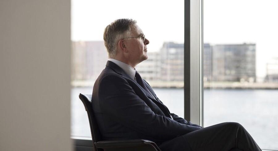 Genmab-topchef Jan van de Winkel er kendt som en meget optimistisk direktør, der griber enhver lejlighed til at tale begejstret om selskabets kræftmiddel, Darzalex. Arkivfoto: Sofie Mathiassen
