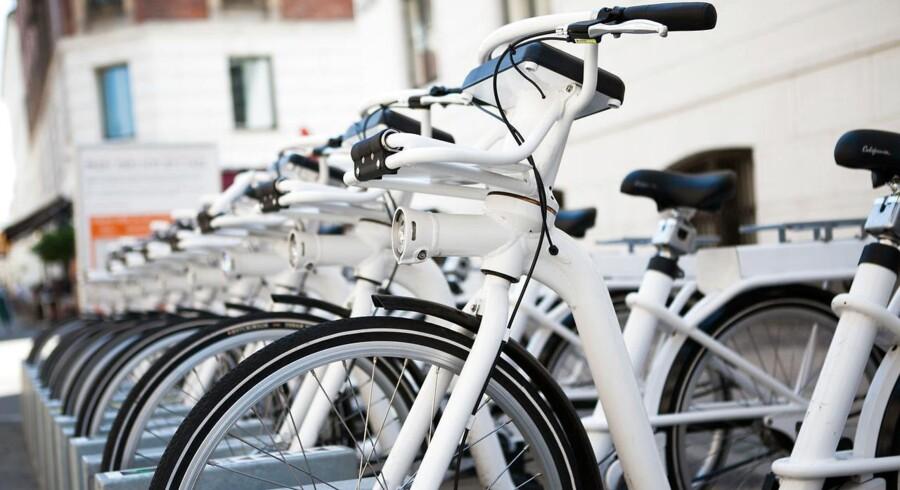 Arkvifoto: En ny aftale skal sikre, at bycyklerne i København kan fortsætte med at være en del af gadebilledet.