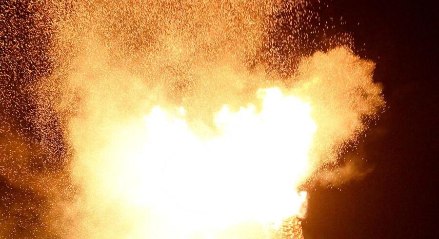 ARKIVFOTO: Et herberg i København blev fredag aften hærget af en brand.