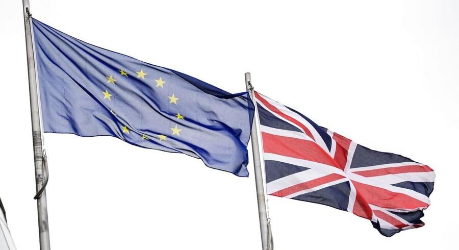Storbritannien har torsdag stemt for at træde ud af EU / AFP PHOTO / LEON NEAL