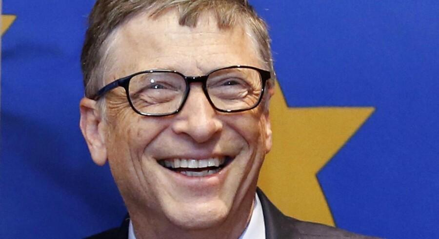 Microsoft-stifter Bill Gates er tilbage på toppen af listen over Verdens rigeste. Arkivfoto.