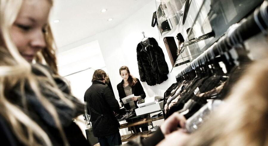 Arkivfoto. Tøjbutikkerne har mærket, at danskerne havde større købelyst i marts.