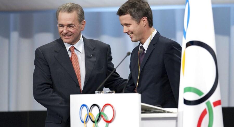 Arkivfoto: Kronprins Frederik meddeler på et pressemøde mandag, at han genopstiller til Den Internationale Olympiske Komité (IOC) for en ny otteårig periode.