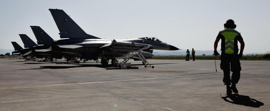 Danmark sender blandt andet F-16-fly og ca. 60 soldater fra specialoperationsstyrken til Syrien. Arkivfoto: Christian Als