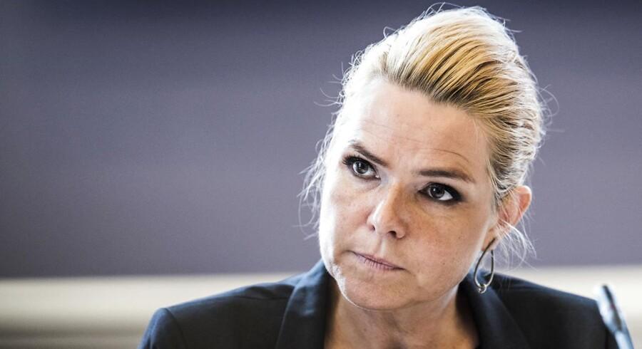 (ARKIV) Udlændinge- og integrationsminister Inger Støjberg (V) skal tirsdag en tur til Berlin, hvor hun skal udveksle erfaringer på familiesammenføringsfronten med sine tyske kolleger.