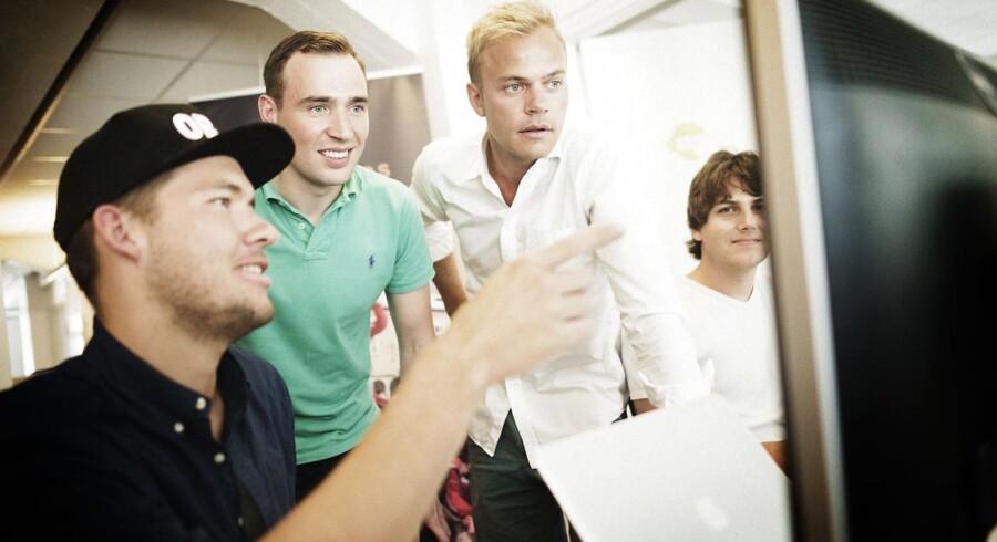 Danskerne mangler risikovillighed til at kaste sig ud i iværksætteri. Her ses dog et hold af iværksættere, der har turde tage chancen fra hhv. Snowmind og Snowmondo.