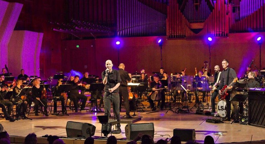 Love Shop koncert med Copenhagen Phil under 60 Minuttes-festivalen i Konservatoriets Koncertsal, Frederiksberg fredag 19. februar 2015