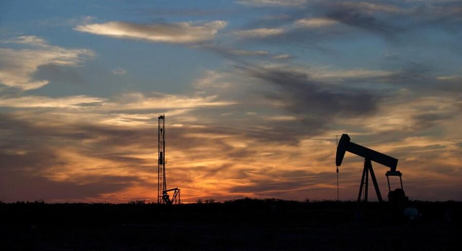 Saudi-Arabien mødtes søndag med Rusland for at diskutere en stabilisering af produktionen af olie. (Arkivfoto)