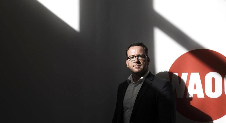 Jørgen Stensgaard, administrerende direktør for elselskabernes fælles salgsselskab Waoo, tror, at den store efterårslancering med nye internetpakker 3. oktober både vil trække nuværende og nye kunder til. Foto: Mikkel Berg Pedersen