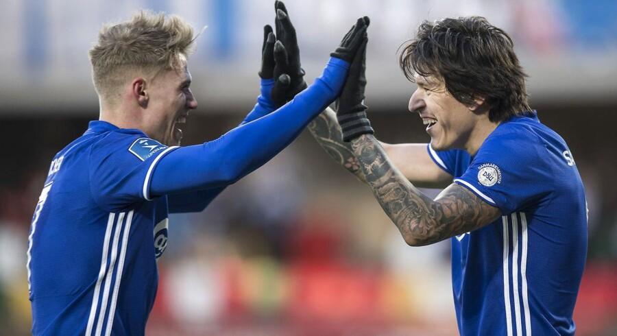 FC Nordsjælland-træner Kasper Hjulmand regner med, at FCK vil tage mange point i Superligaens medaljeslutspil.