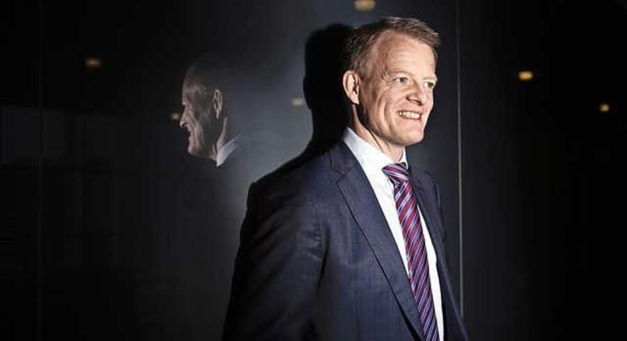 Finansdirektør Anders Götzsche dobbeltjobber som Lundbeck-topchef og afleverede i går et historisk regnskab.