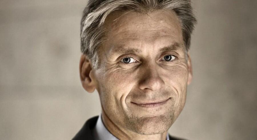 Administrerende direktør i Danske Bank, Thomas F. Borgen, advarer mod at lette topskatten.