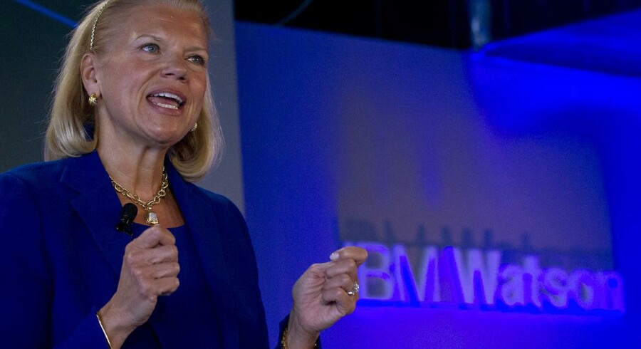 "IBM CEO Virginia ""Ginni"" Rometty."