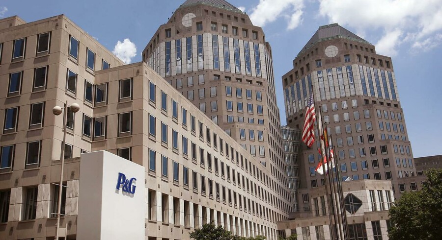 Procter and Gamble Co. hovedkvarter i Cincinnati, Ohio.
